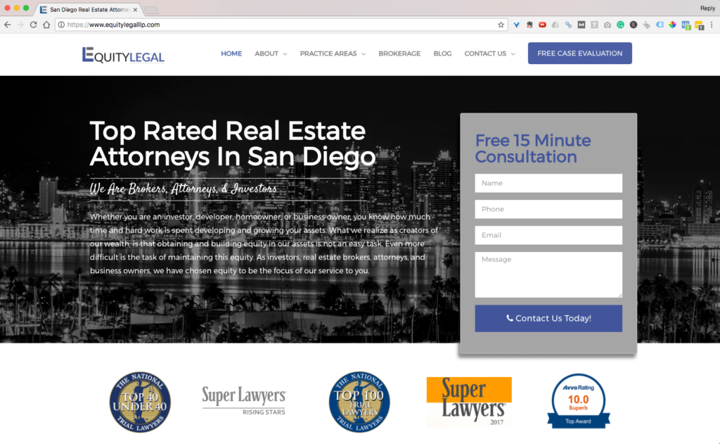 Equity Legal LLP San Diego